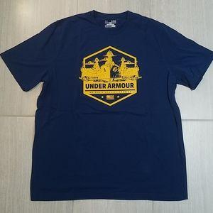 Under Armour US Navy XL Loose Heat Gear Shirt